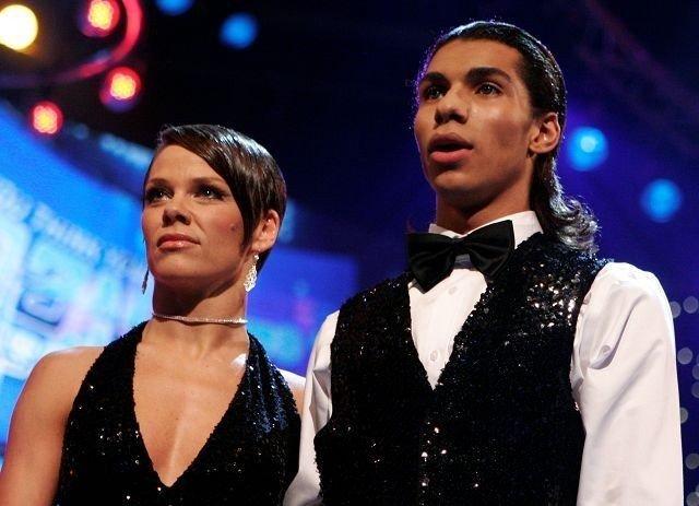 Siv Gaustad sammen med dansepartner Sergio Benvindo Junior. Foto: TVNorge