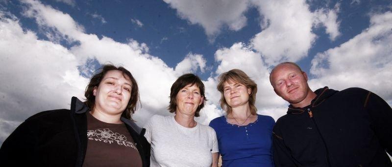 Nina, Mari Kopperud, Ingunn Torsrud og Stian Karlsen håper flere har lyst til å bli støttekontakt. De som har behov er i en sårbar livssituasjon og har behov for omsorg og varme, forklarer Mari Kopperud.