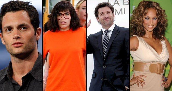 FORTSETTER: Gossip Girl, Ugly Betty, Greys Anatomy og Americas Next Top Model fortsetter på tv til høsten.