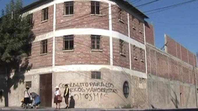 KVINNEFENGSEL: De tre norske kvinnene sitter i dette fengselet i Cochabamba i Bolivia.