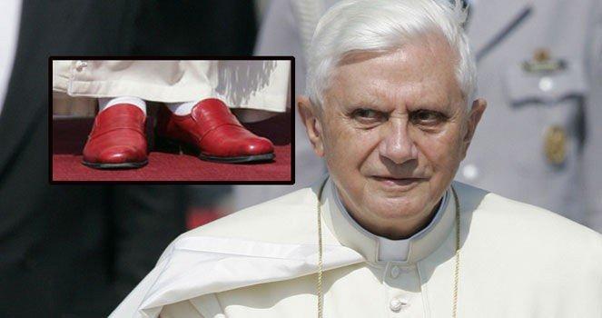 58354c9c0330 Pave Benedict XVI - Paven bruker ikke Prada