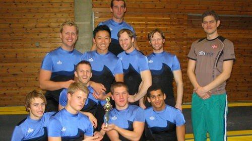 Oslo Turn herretropp tok denne helgen revansj mot erkekonkurrenten STAG.
