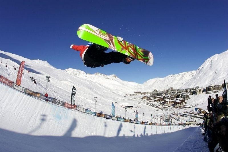 Hemsedal er blant de beste reisemålene for snowboardere, mener The Telegraph, men Tignes (bildet) er best