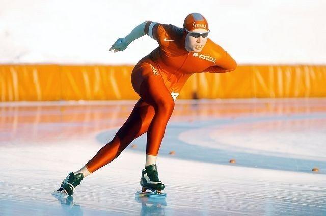 Kjetil Stiansen i fint driv på 1000 meter. (Foto: Harald Stensdal)