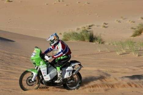 Pål Anders Ullevålseter kjørte en sterk etappe i Dakar-rallyet mandag, og endte på en delt annenplass.