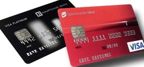 Minibank kort visa