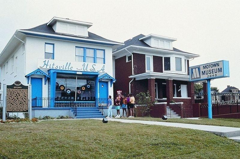 MUSIKK: Hitsville USA og Motown Museum i Detroit.