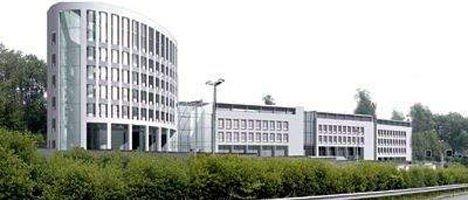Slik tenker arkitektene seg Selvaags nye kontorområde sett fra Ullernchausseen. Skisse: Narud, Stokke, Wiig og Planleggere AS