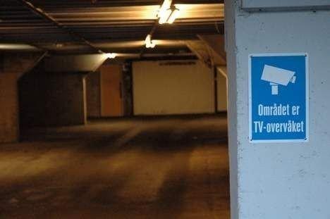 Det var i dette garasjeanlegget Vegard Bjerck ble funnet drept i desember. Foto: Vidar Bakken
