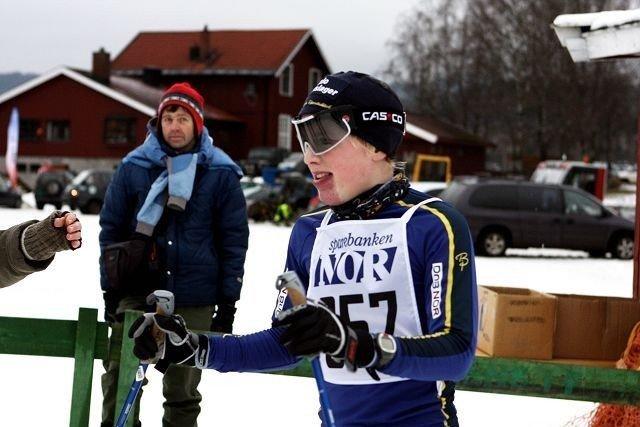 Sigurd Lund Røer gikk inn til en 17. plass i søndagens Lauritz Bergendahl Minneløp i Sørkedalen.
