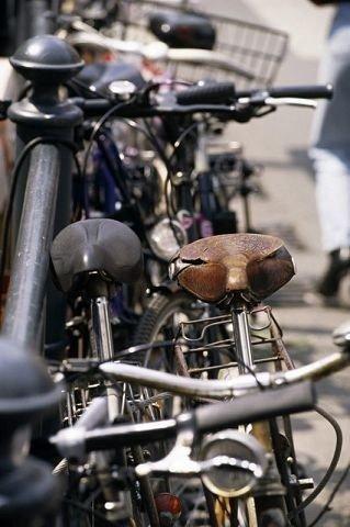 Dt er ikke bare snøkavet som stanser sykkeltyvene om dagen. ILLUSTRASJONSFOTO