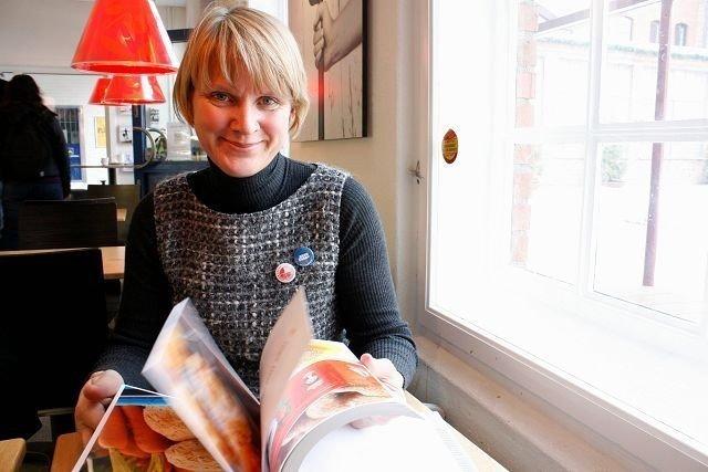 Torunn Nordbø fra Nordstrand er daglig leder for Opplysningskontoret for brød og korn. Hun er også ansvarlig redaktør for boken «Nybakt til alle måltider».