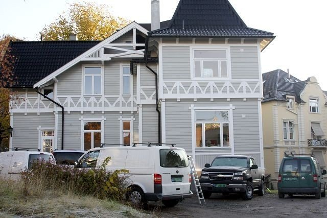 UNIK: Frogner Bydel er glad for at det blir garasje under villaen. FOTO: Erik Tangen