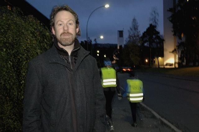 Geir Olav Lauritzen har flyttet til Kringsjå for tolv år siden. Det har hjulpet ham til å holde seg i form, mener han selv. Folkehelseinstituttet vil vite om det også gjelder flere. Foto: Karl Andreas Kjelstrup