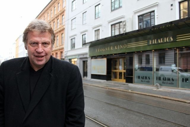"""Frogner Kino spiller en ikke ubetydelig rolle i Erling Borgens nye bok """"Fredsnasjonens Hemmeligheter"""" fOTO: Erik Tangen"""