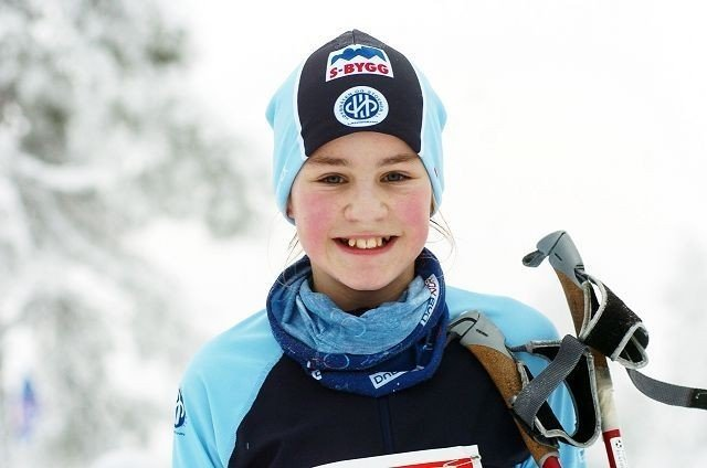 Vant: Karianne Moe gikk til topps i 13-årsklassen i fristil. Alle foto: Harald Stensdal