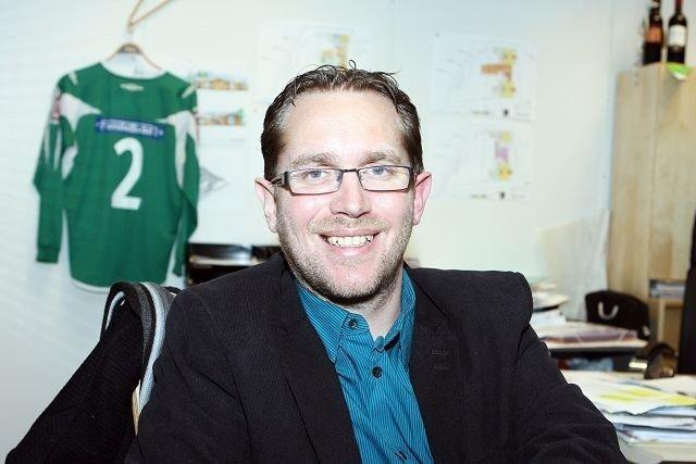 Daglig leder i Manglerud Star fotball, Tom Arne Nyborg. Arkivfoto