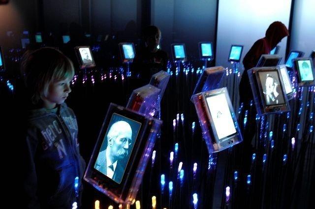 45 minutter går veldig fort på Nobels Fredssenter. FOTO: VISIT OSLO/NB