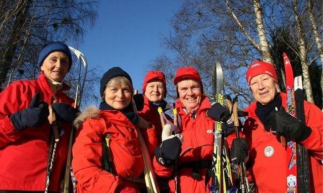 Fra venstre: Marianne Bjørn-Hansen (Fagerborg),Bodil Glad (St.Hanshaugen), litt bak: Ellen Hanne Geirbo (Nordberg),Anne Marie Grande (Refstad) og Netten Grav (Ullern). Foto: Kristin Tufte Haga