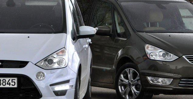 2 x FORD: Den ene vagger som en fransk sofa på veien, der den andre oppfører seg som en sportsbil.