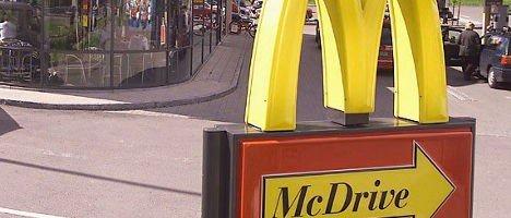 Her på McDonald's på Gaustad gikk det galt for den skuffede esteren.