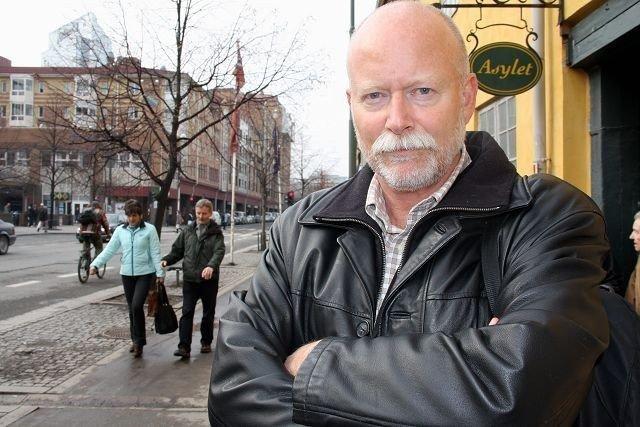 Leder i Grønland Beboerforening, Leif Pareli, synes det er trist om foreningen skulle bli lagt ned. FOTO: LARS ROAR RUD