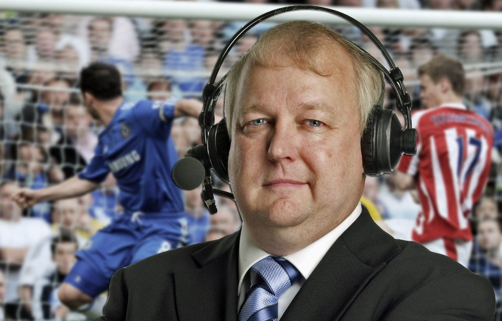 Øyvind Johannessen satte seg i bilen for å sitte ringside under forrige helgs serierunde i Premier League.