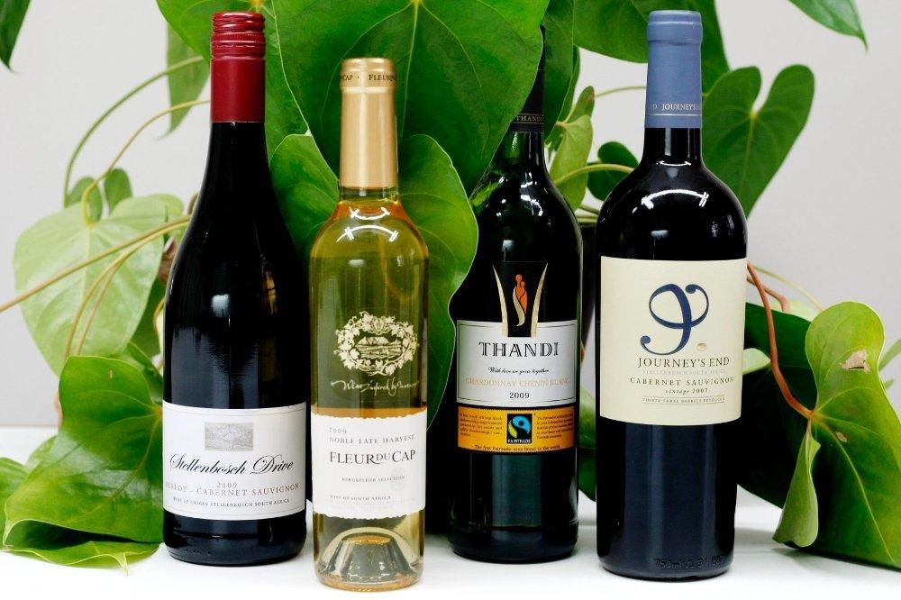 Fire sørafrikanske viner får full pott i vår vintest.