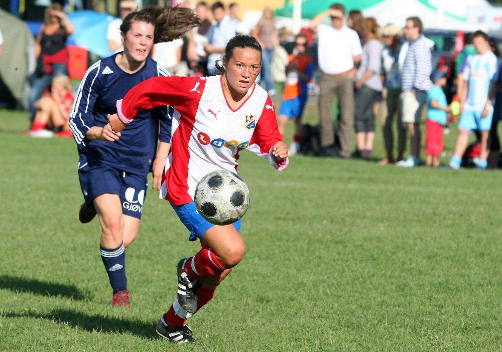 Maren Eithun Hauge spilte strålende mot Vind og noterte seg for to mål og en målgivende pasning.