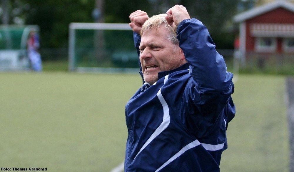 Kjelsås-trener Jan Aksel Odden kan strekke armene i været etter en høyst fortjent seier over Notodden.