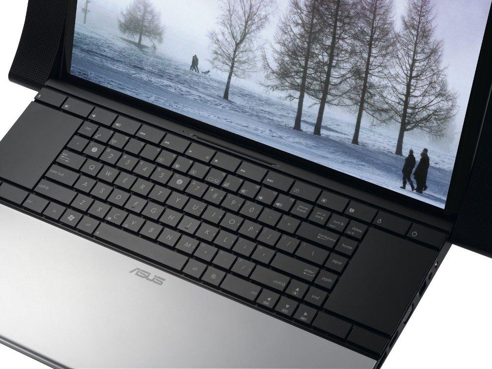 Asus NX90Jq har unikt design og god konstruksjonskvalitet, men skjermen skuffer