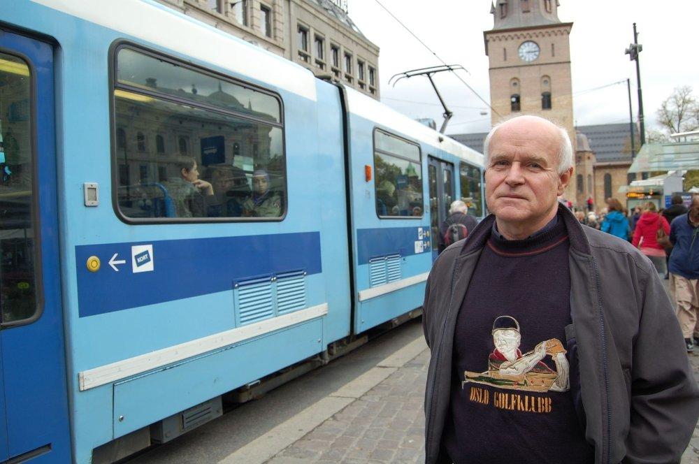 Hans Jørgen Gjertsen i Vestre Aker KrF vil har gratis buss og trikk til alle i Oslo.