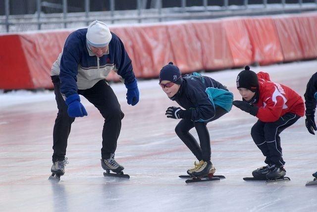 Skøytelegenden tok med seg deltakerne p den berømte «Kuppern Runden» på Valle lørdag.