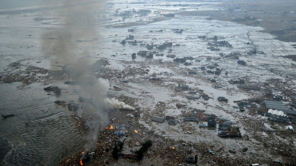 Den japanske byen Natori City ble knust til pinneved på lik linje med mange andre japanske byer.