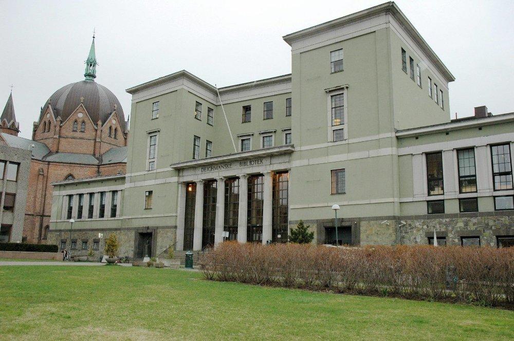 Deichmanske hovedbibliotek.