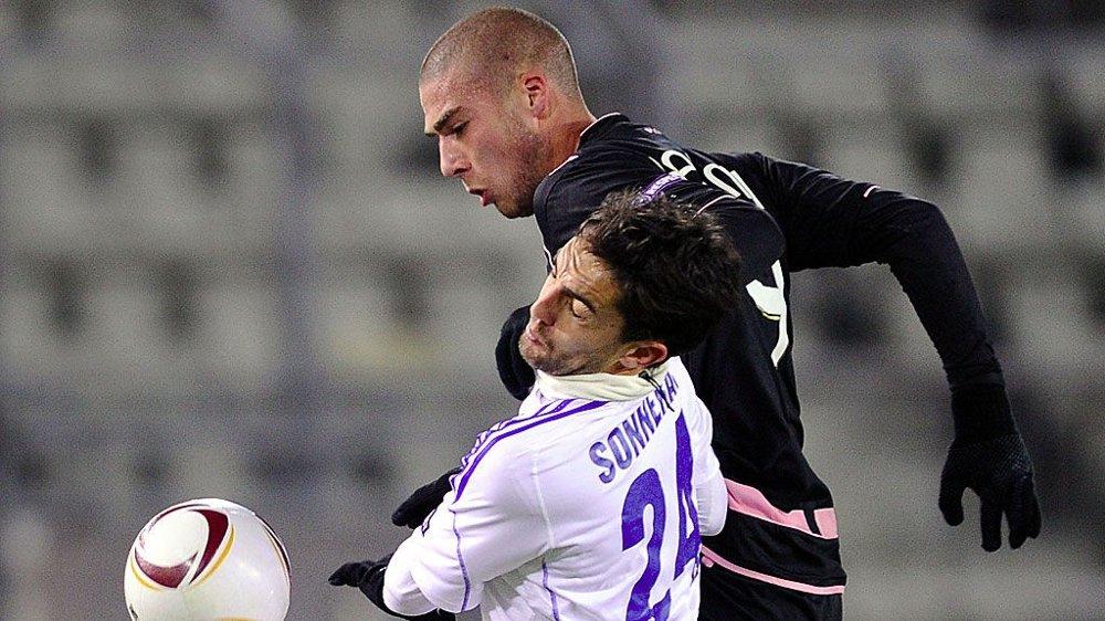 TIL FULHAM: Pajtim Kasami går fra Palermo til Fulham. Her fra en Europa League-kamp for italienerne sist sesong.