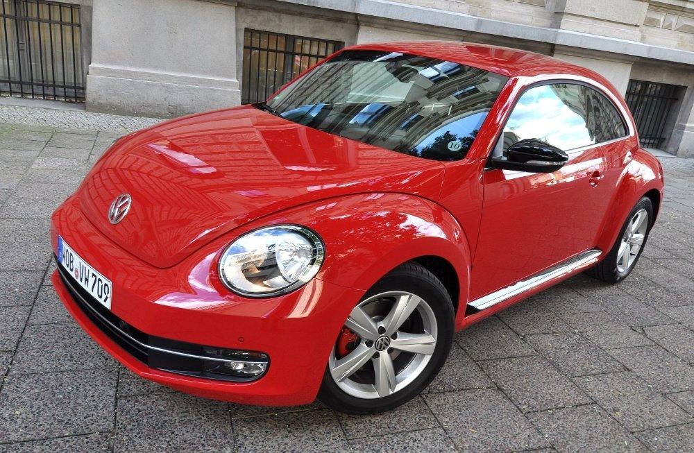 Linken til historien er fortsatt der, men Beetle framstår nå som en tvers gjennom moderne bil.