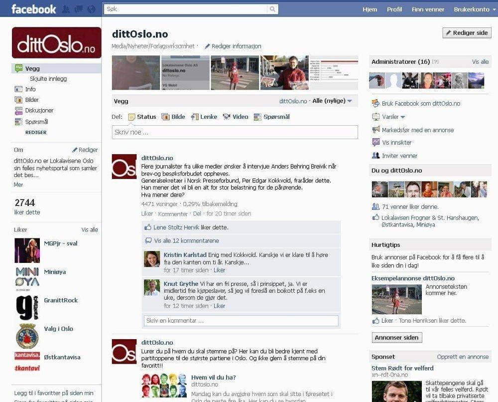 Våre følgere på Facebook mener at mediene bør unngå å intervjue terrorsiktete.