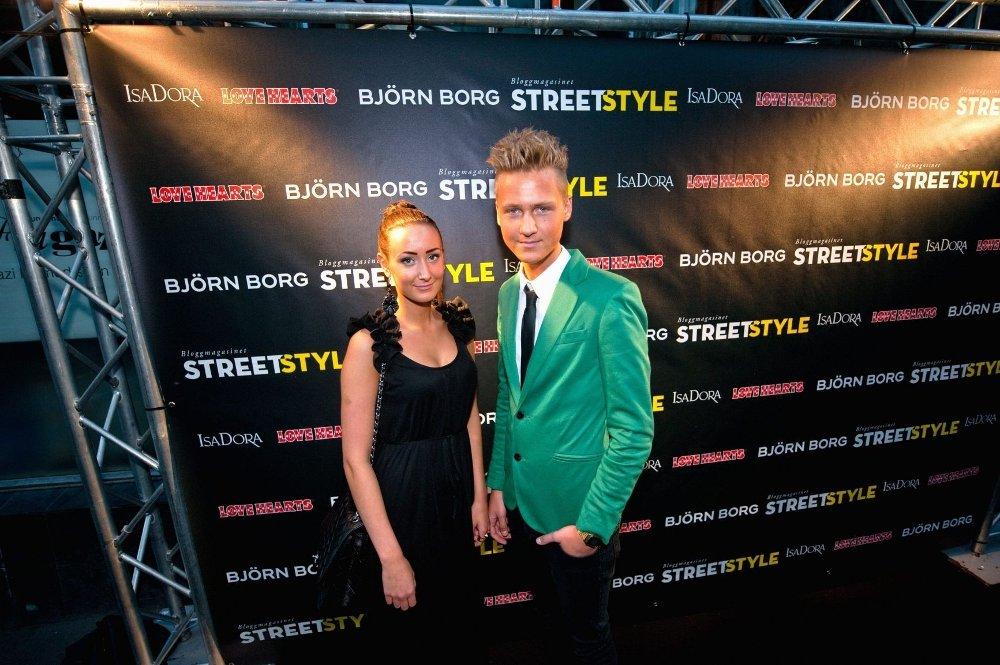 KJÆRESTEBLOGGERE: Nathalie Nagele og Jonas Olofsson har blogget i to år, og spår suksess for magasinet Streetstyle.