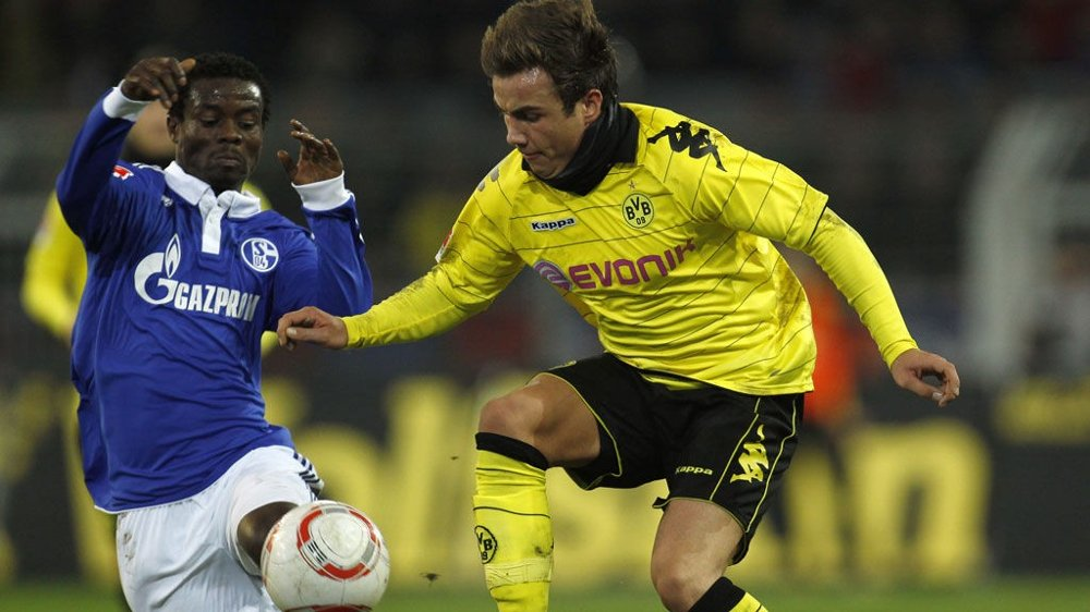 FINALEKLAR: Anthony Annan og Schalke 04 er klare for den tyske cupfinalen.