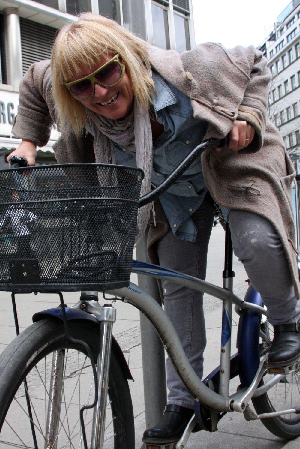 Ellen Rønning, skjeriOslos råeste syklist.