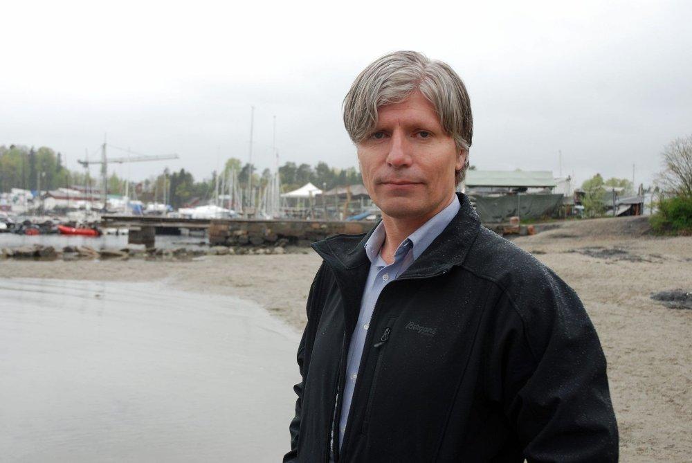 FERDIG: Ola Elvestuen mener lite kan gjøres med fortausbredden i Nye Bogstadveien.