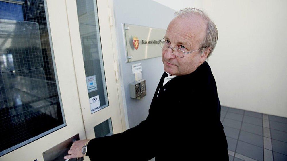Det er ikke første gangen administrerende direktør i NHO Service, Petter Furulund, må til Riksmekleren for lønnsoppgjør hos vekterne. Dette bildet er fra 2010.