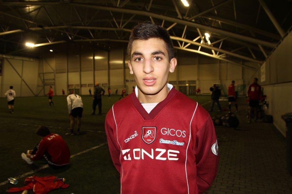 FRA HOLMLIA: Mohammed Aouragh fra Holmlia er på prøvespill hos Lyn.