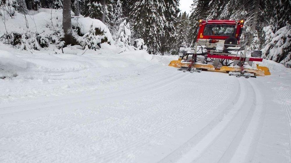 løypemaskin skispor