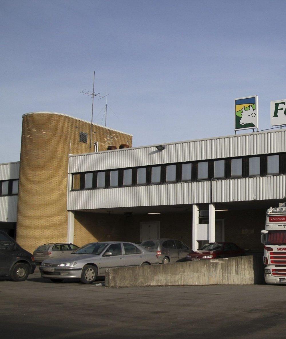 SLAKT: Tyveriet skjedde fra Fatland på Furuset. FOTO: ØYSTEIN DAHL JOHANSEN