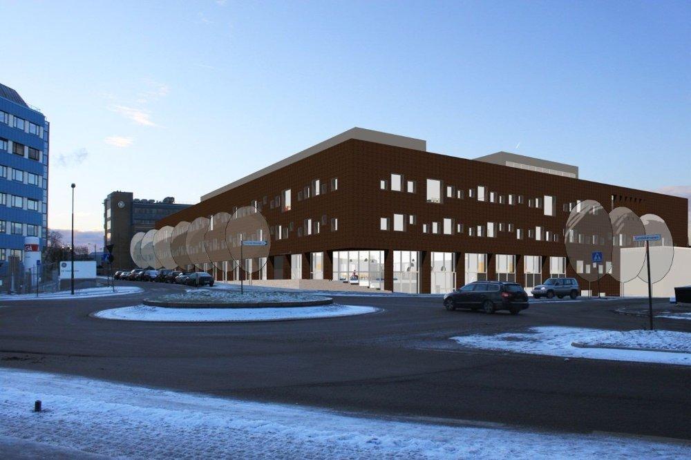 BYGGESTART: Allerede til våren skal bygging av nye Lillohøyden skole igang. FOTO: Undervisningsbygg