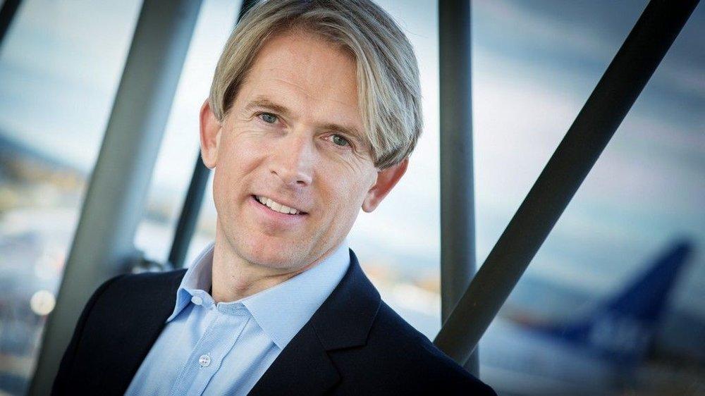 Konserndirektør Salg og Marked i SAS Eivind Roald