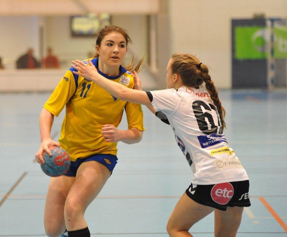 Bækkelaget vil spille jevnt med de beste i Bringserien. Her ved Andrea Oretorp, som scoret fire mål.