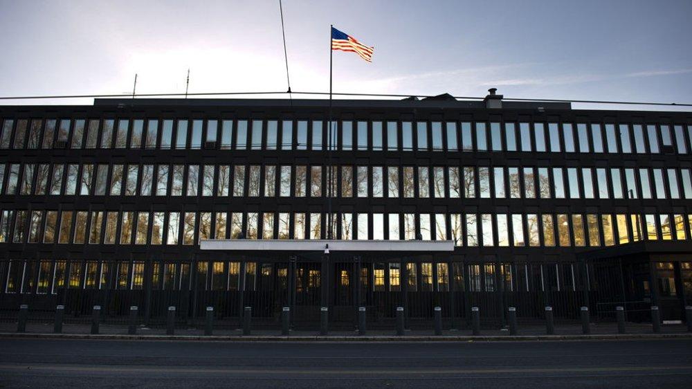 Den amerikanske ambassaden i Oslo.